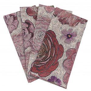 floral cotton napkin