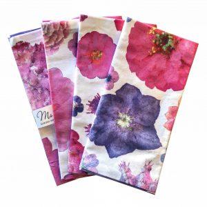 floral cotton napkins