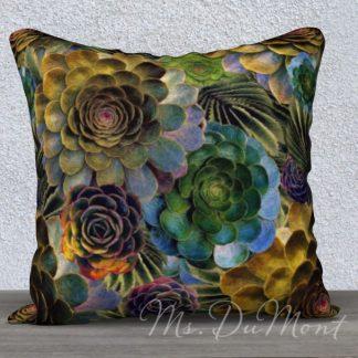 Succulent Cactus Pillow Cover