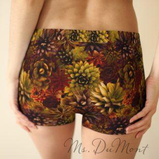 cactus succulent underwear for women