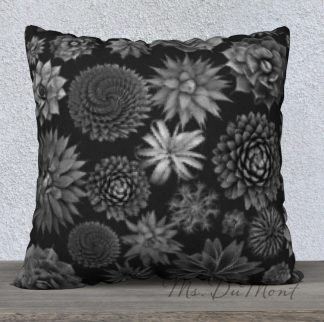 succulent cactus pillow