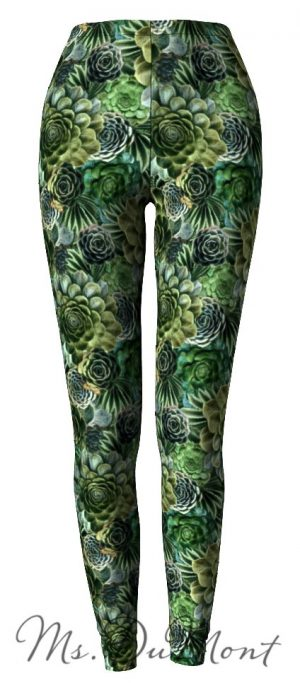 Succulent Leggings