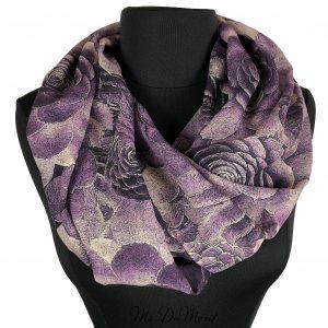succulent cactus scarf