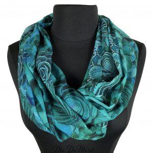succulent chiffon scarf cowl
