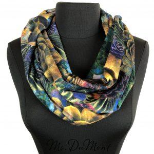 succulent cowl scarf