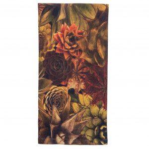 Succulent cactus linen napkin