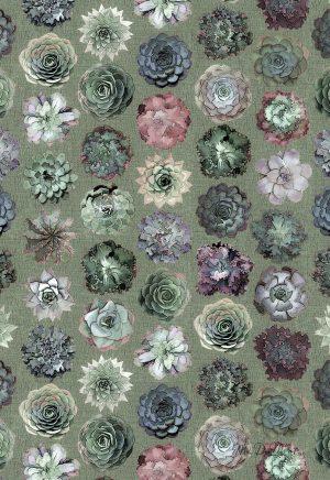 succulent organic cotton towel