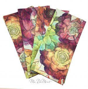 cotton succulent napkin