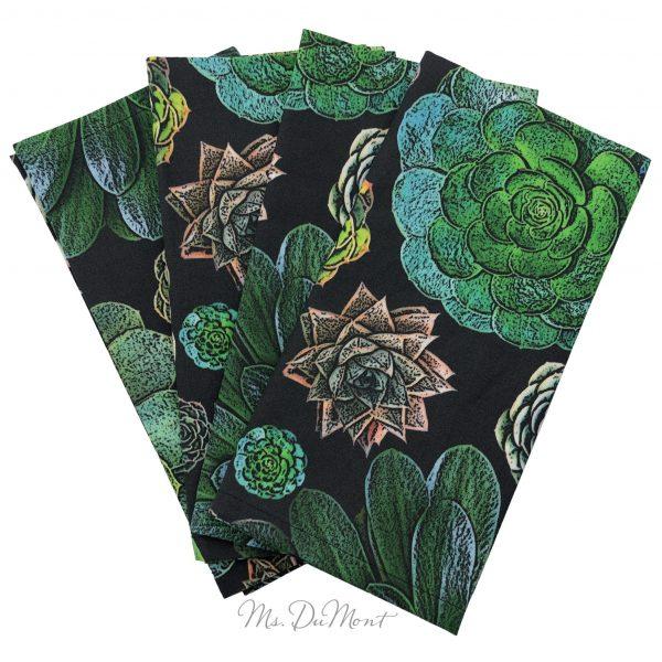 succulent cotton napkin