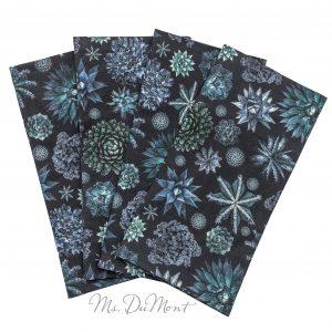 Undersea succulent napkins