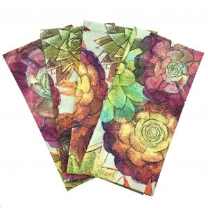 succulent cactus cloth napkin