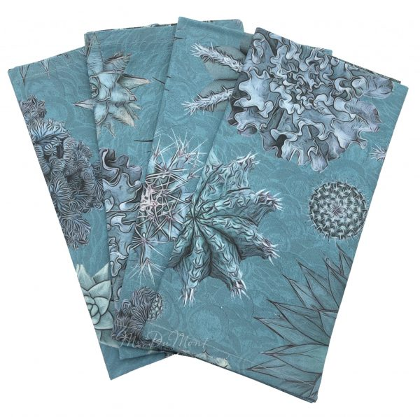 succulent cactus cotton napkin
