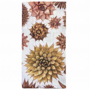 cactus linen napkin