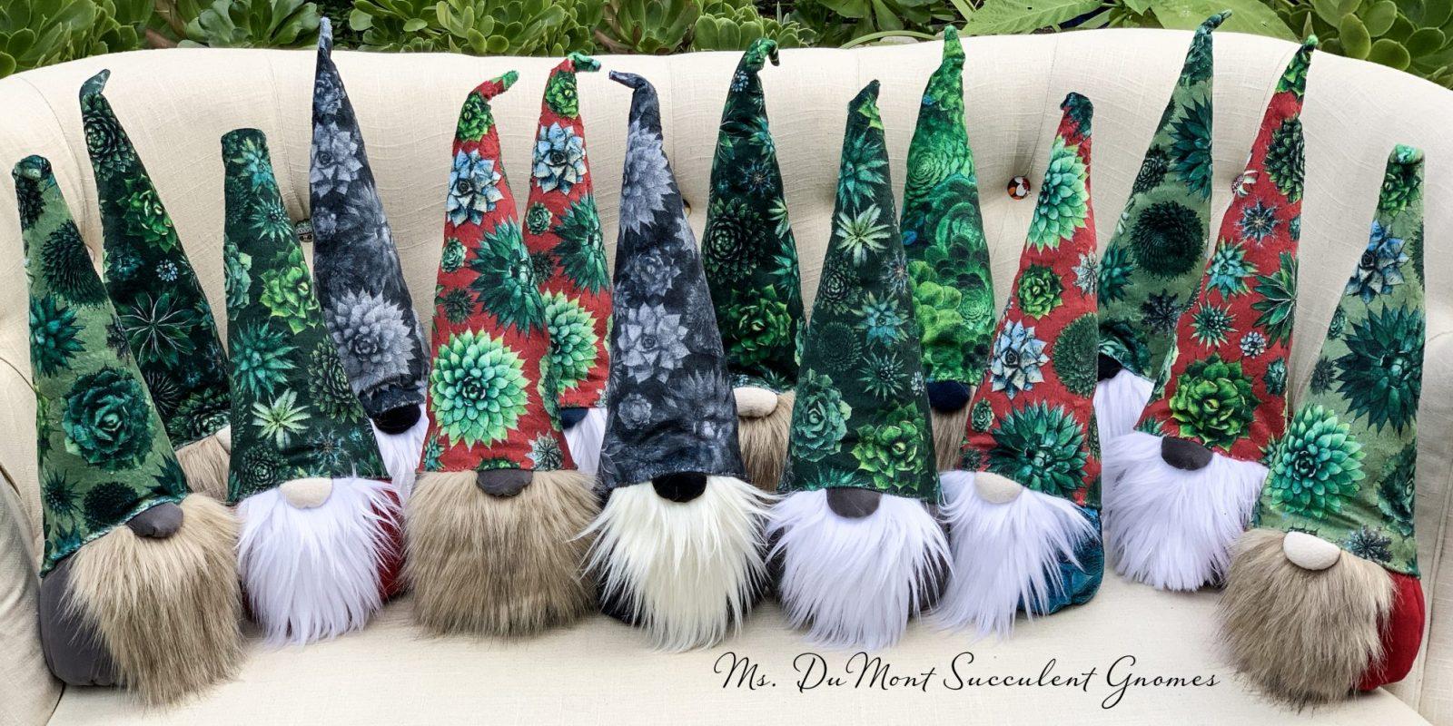 succulent gnomes
